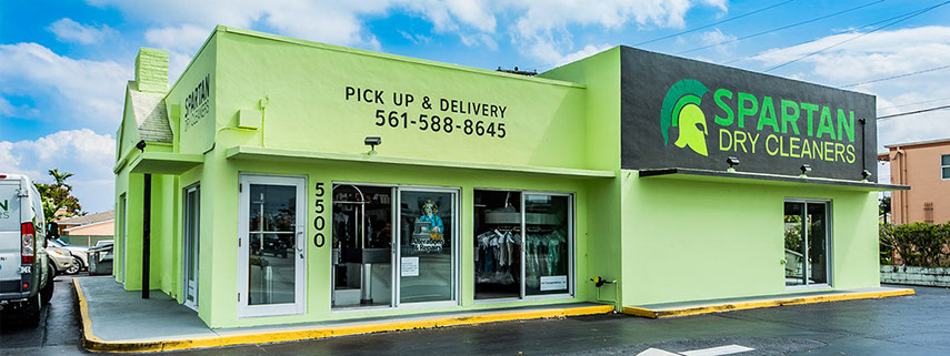 Spartan Dry Cleaners In West Palm Beach